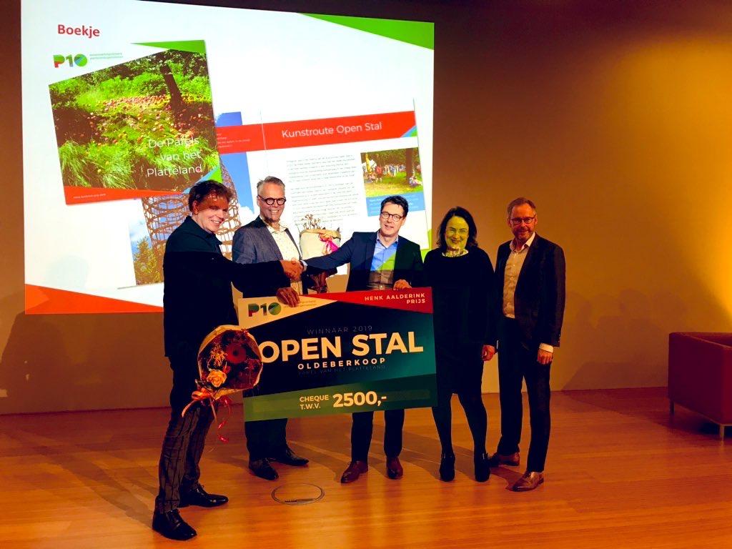 winnaars van de Henk Aalderink-prijs 2019